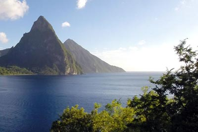 About the Island of St. Lucia