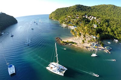 Caribbean Fortune Hunter Charter Itinerary