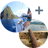 North Day Sail Tour St. Lucia