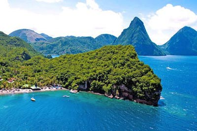 St. Lucia Explorer Voyager Itinerary