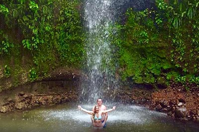 Toraille Waterfall St. Lucia