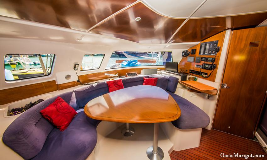 Schooner Cockpit Windward Islands