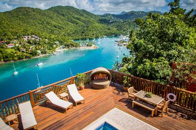 Villa Trident of Marigot Bay