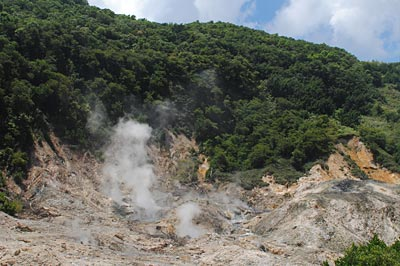 St. Lucia Active Volcano