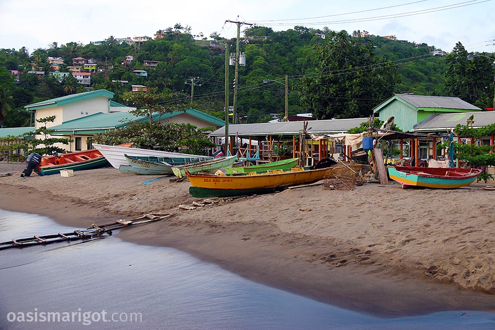 anse la raye fishing village st lucia