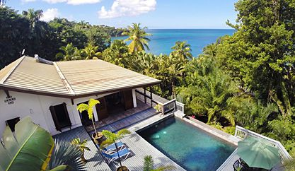 Barefoot Beach Villa of La Toc, St. Lucia