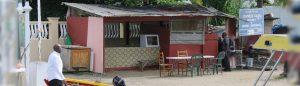 bernice food shack marigot bay saint lucia