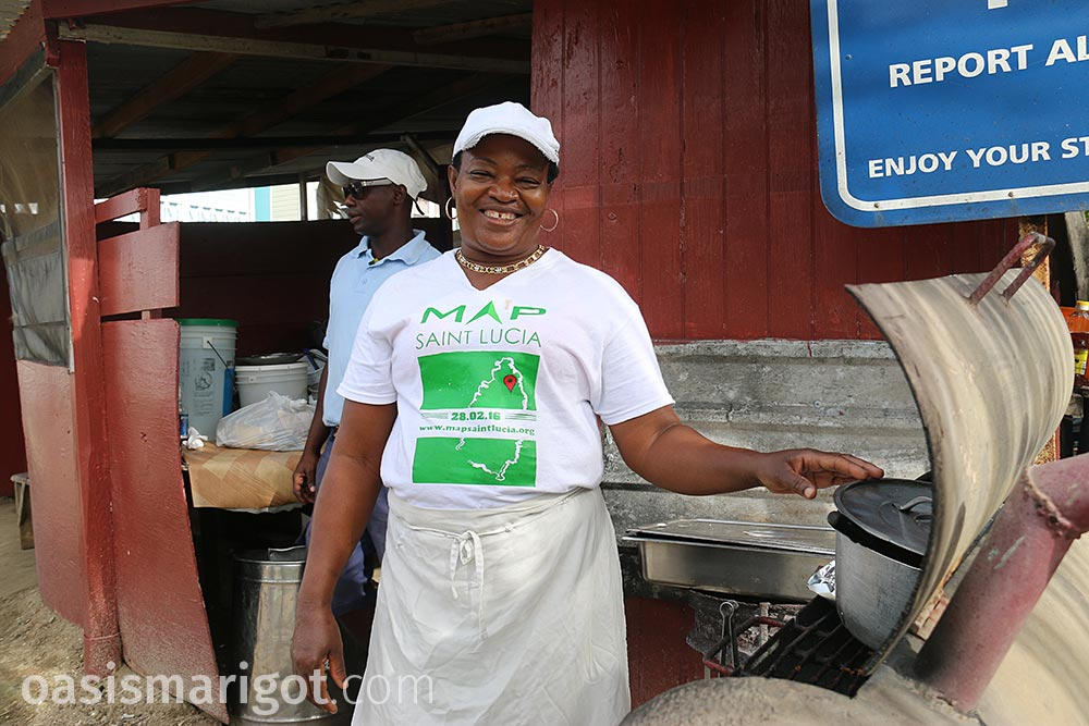 best local food marigot bay st lucia