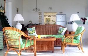 butterfly beach house living area