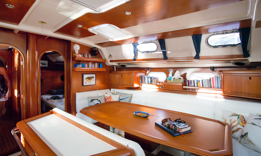 Sailing Schooner Cabins
