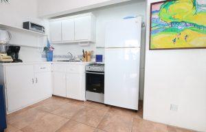 caribbean blue suite kitchen