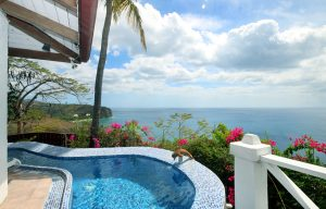 caribbean blue suite romantic two person private pool