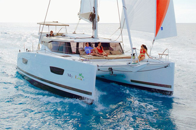 All Inclusive Caribbean Charter Catamaran