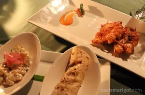 coconut crusted lionfish