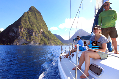 St. Lucia Explorer Charter Itinerary