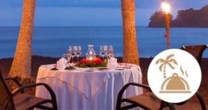 dinner on the beach addon