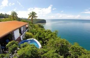 emerald hill villa of marigot bay