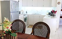 full kitchen self catering villa la toc2
