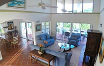 great house living and dining area