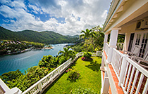 great view st lucia from house2
