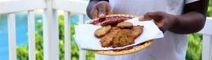 how to make st lucia saltfish accras