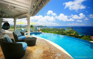 infinity pool st lucia