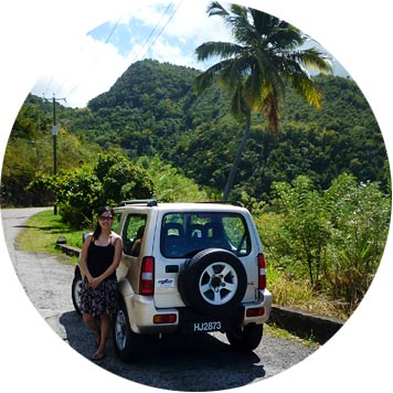 jeep rental st lucia