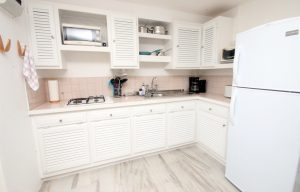 kitchen villa st lucia