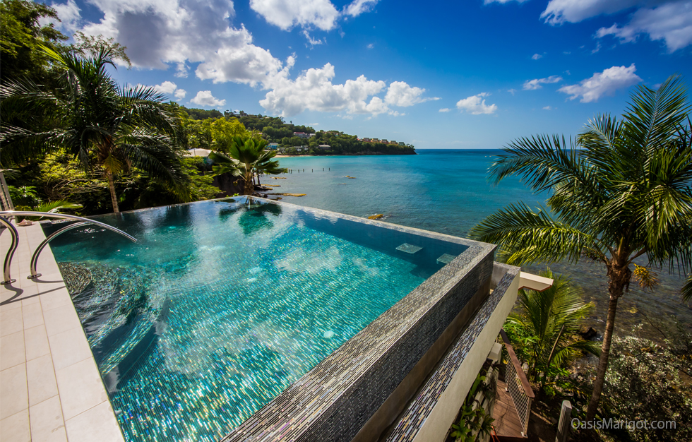New Ocean Front Property-with Infinity Pool