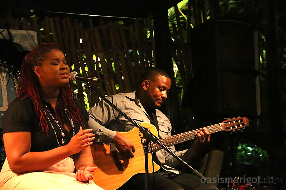 live music rainforest hideaway marigot