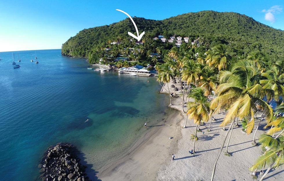 Quot Villa Saint Lucia Quot A Cottage Style Villa In Marigot Bay