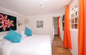 lower level bedroom private villa