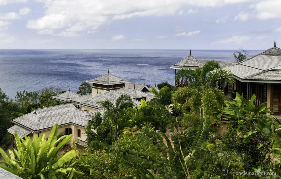 St lucia 39 s most luxury villa where the stars stay - The star shaped villa ...