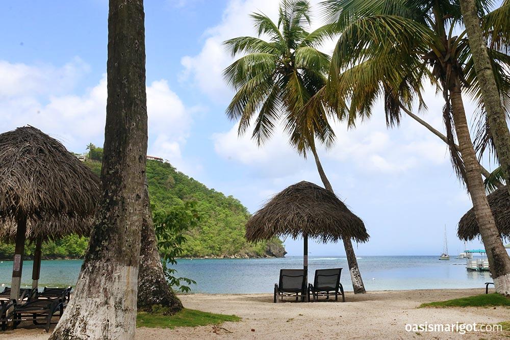 Marigot Bay Beach St. Lucia