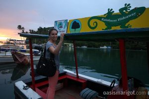 marigot bay ferry to rainforest hideaway