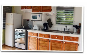 mini kitchen villa rental