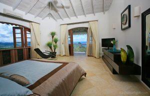 modern luxury caribbean villa