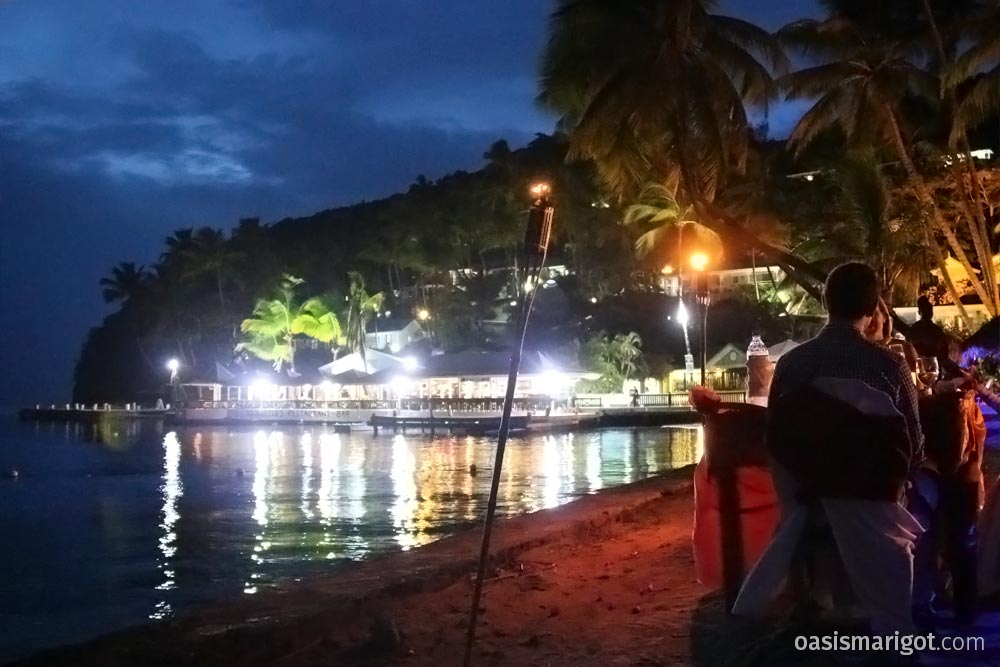 Oasis Marigot Dinner on the Beach