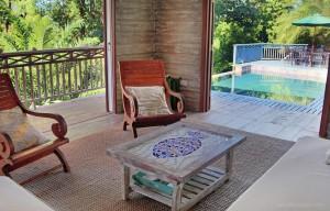 open concept villa