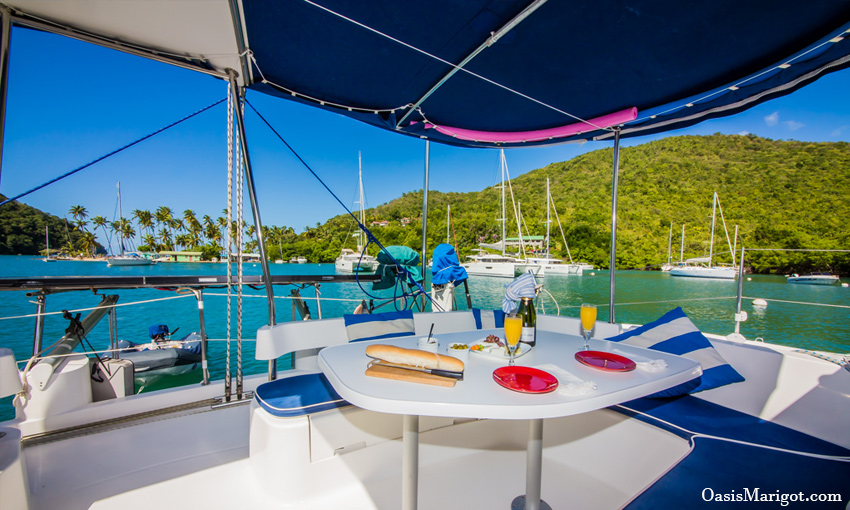 all inclusive sailing yacht caribbean