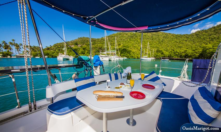 Sailing Charter Vacation Caribbean