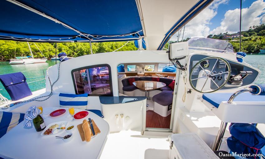 Sailboat Deck Grenadines