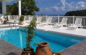 private villa large pool large group st lucia2