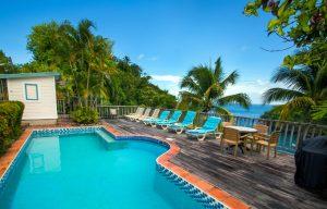 private pool saint lucia home rental