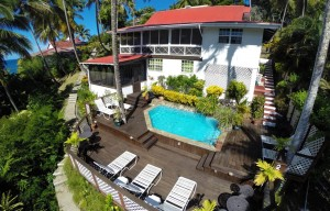 private quiet villa rental marigot bay