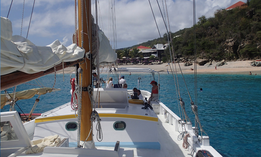 Sailboat Deck Grenadines