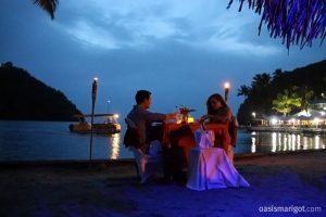 Romance Dinner on the Beach