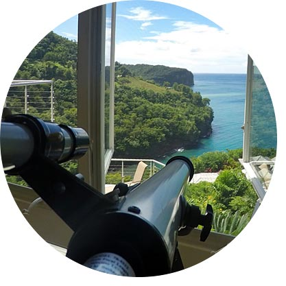 serenity bay telescope view