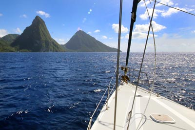 South Day Sail Tour St. Lucia
