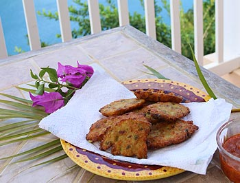 How to Make Our Favorite St. Lucia 'Salt Fish Accras'